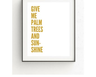 Gold Wall Decor, Quote Wall Art, Printable Quotes, Quote Print, Typography Print, Digital Download Art, Quote Poster, Inspirational Quotes