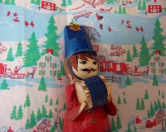 vintage de sela paper ornament