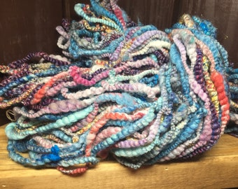 Salsa Dance - Hand Spun Art Yarn