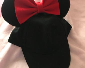 Minnie Mouse Hat (girls)