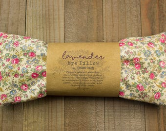 LAVENDER EYE PILLOW | Relaxation | Meditation | Aromatherapy | Savasana Yoga | Gift for Friend | Gifts Under 15 | Mother's Day Gift