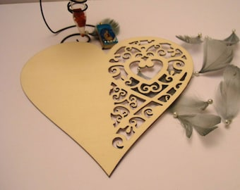 Heart 10 x 10 cm 1366 to send a message