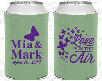 Sage Green Wedding, Sage Green Can Coolers, Sage Green Wedding Favors, Sage Green Wedding Gift, Sage Green Party Decorations (568)