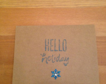 Hello Holiday Card Set