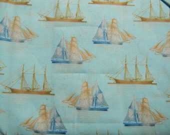 Tall Ships by Windham Fabrics Cotton Fabric