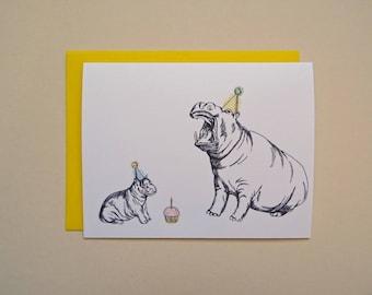 Hippos Card