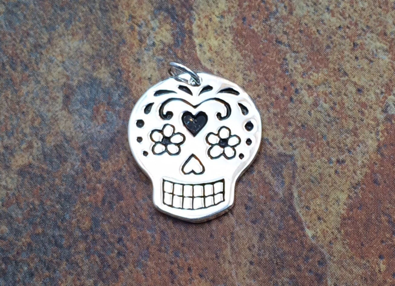 jewelry item pendants stainless for large in on steel pendant mens sugar man from necklace accessories skull fashion