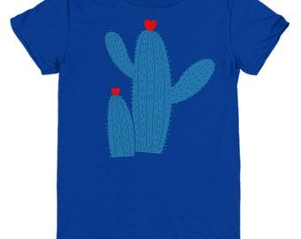 Cactus Hug Youth T-Shirt - Fun Gift