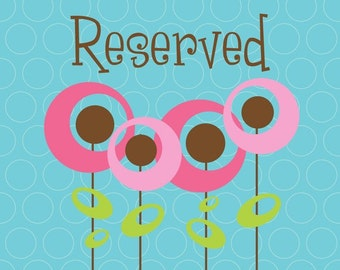 Reserved listing for angelahuse