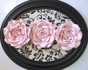 Paper Flowers Wall Decor- Baby - Home Decor - Nursery Decor - Wedding Decor - Paper Flower Backdrop - Paper Flowers - Photo Shoot - Backdrop