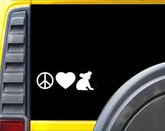 Koala Peace Love Window Decal Sticker *H127*