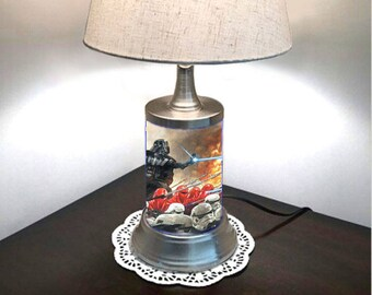 Star Wars Lamp with  shade, Darth Vader Galactic Empire Imperial Army