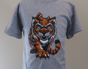 Toddler 2T 3T 4T 5T Tiger T-Shirt