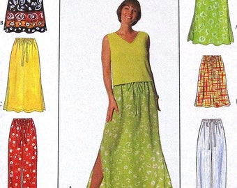 Skirt Sewing Pattern UNCUT Simplicity 7513 Sizes 6-16