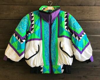 Vintage 80s/90s Neiman Marcus Puffer Jacket