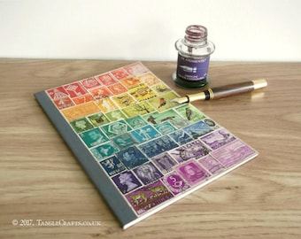 Rainbow Bullet Journal Notebook A5 • Dot Grid Pages & Index Page