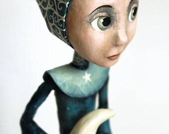 Goddess of night and stars KriSoft OOAK Doll