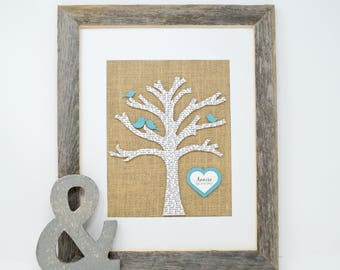 Gift for Mom, Gift for Parents, Christmas Gift for in-laws, Family Tree, Gift for Grandma, Rustic Decor, Gift for Sister, Farmhouse Style