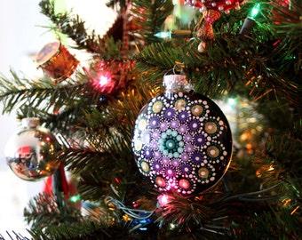 Jewel Drop Mandala Ornaments