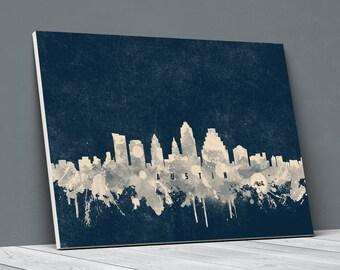 Austin canvas | Etsy