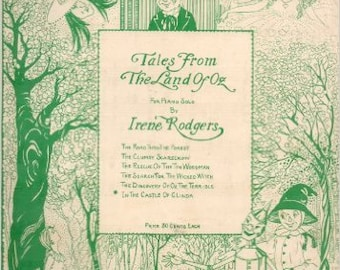 Oz Sheet Music - Tales from the Land of Oz