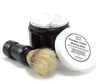 Mens Shaving Whip, Shaving Cream, Shave Soap