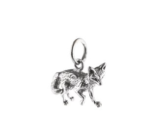 Little Fox Sterling Silver Charm