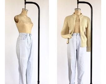 1980's High Waist Bill Blass Jeans