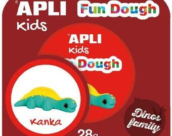 "Kit playdough Fun Dough 28 Gr ""Kanka"" - APLI Kids - Ref 14287 - until the stock!"