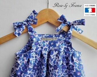 Liberty Betsy Lavender Baby dress