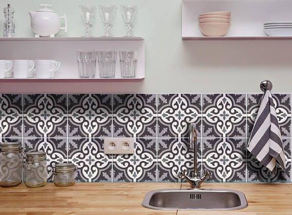 Moroccan tile decals moroccan stickers moroccan azulejos