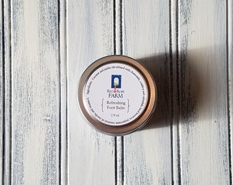 Refreshing Foot Balm, All-Natural, 1.5 ounce