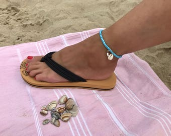 Light blue Ankle Strap