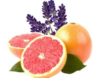 Natural Body Butter - Lavender & Grapefruit Essential Oil