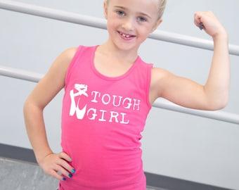 Tough Girl Ballet Tank Top.  Ballet chicks are tough!