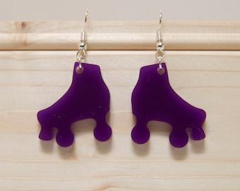 Roller Skate / Roller Derby Earrings