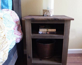 Rustic Night stand/sidetable