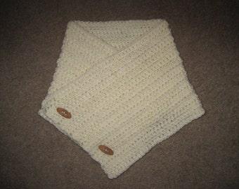 Custom Crochet Chunky Cowl Neckwarmer - 24 Colors Available