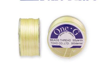 Reel 46 m One - G (Toho) 0.25 mm YELLOW thread