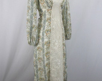 1970's Prairie Dress Gunne Sax Style by This Is Yours