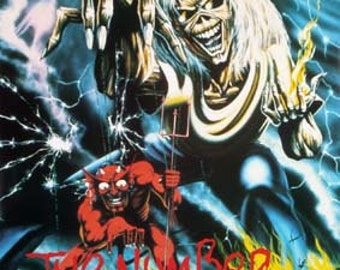 Iron Maiden Number Of The Beast Poster 25 x 36