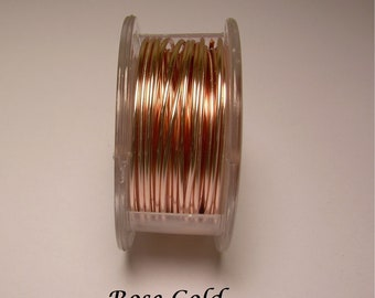 Rose Gold Craft Wire 20ga. 18ft. PRO - QUALITY