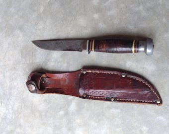 Vintage Kinfolks Hunting Knife