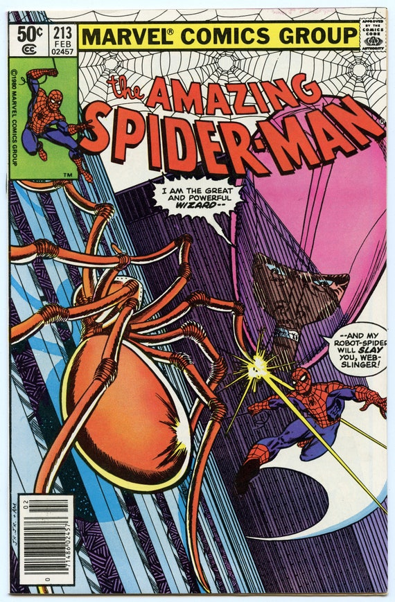 Amazing Spider-man 213 Feb 1981 NM- (9.2)