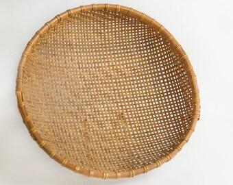 large winnowing basket // large