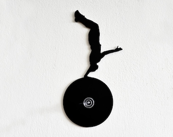 Basketball Silhouette-Wall Hook  / Coat Hook / Key Hanger