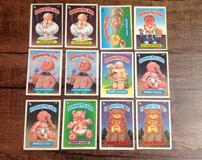 GPK 1986 6th Series - Garbage Pail Kids Trading Cards