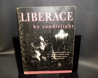 Liberace By Candlelight Sheet Music 1953