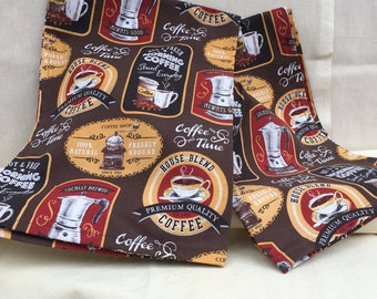 Set of Two (2) Coffee Lover Kitchen Towels