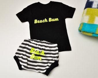 SALE RTS 6-9 MOS Beach Bum Infant/Toddler Set